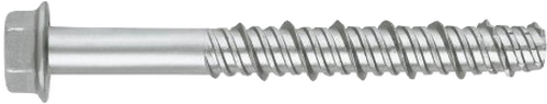 THDEX concrete screw with ruspert silver coating