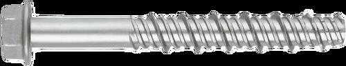 THDEX concrete screw with ruspert silver coating
